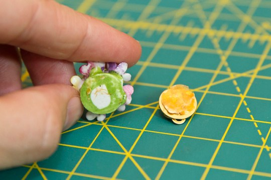 DIY Jeweled Spin Pin