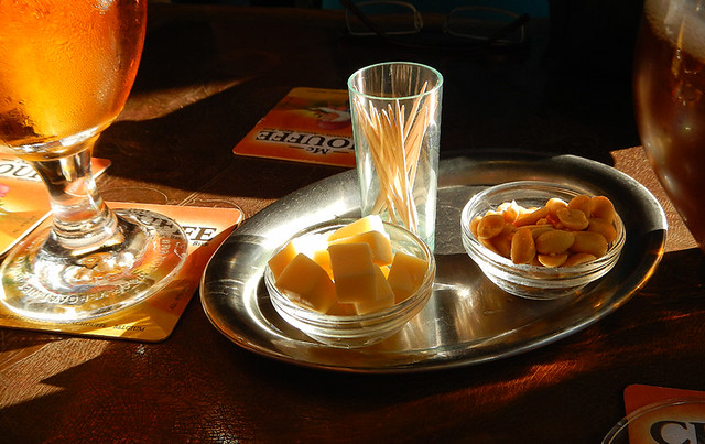 beer & cheese (& sunlight)