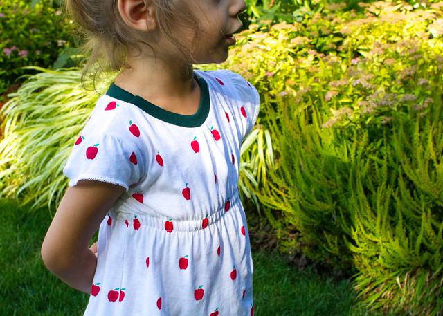 signature apple dress