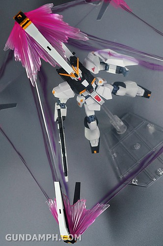 Robot Damashii Nu Gundam & Full Extension Set Review (94)
