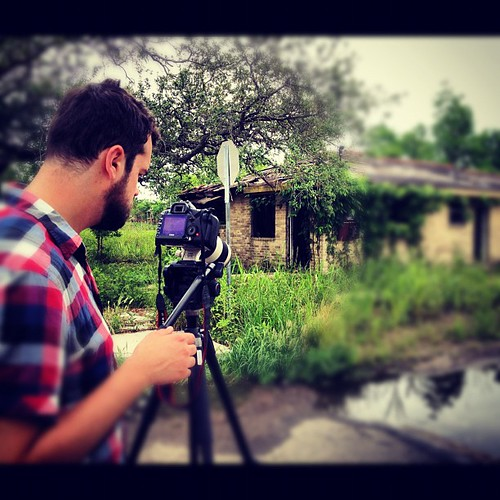 Recording video about community in the lower 9th Word w/ @tomshea