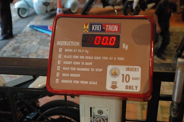 体重計。10B。