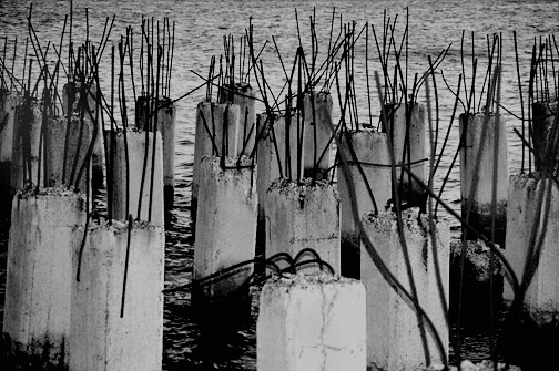 old pier structures