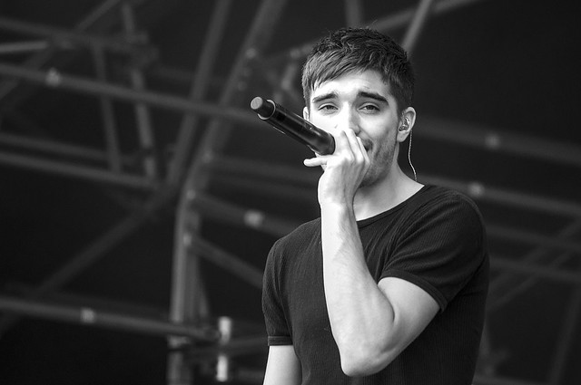 Tom Parker (The Wanted) - Party in the Park, Leeds 2011
