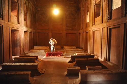 Solace in solitude, Fatehpur Sikri, near Agra, India