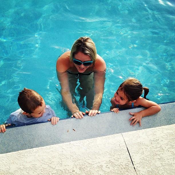 Swim lessons.
