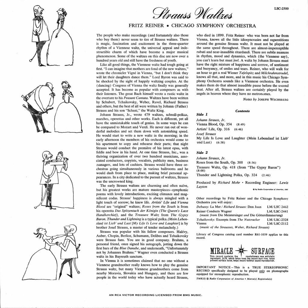 Johann Strauss - Strauss Waltzes