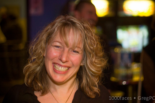 Face - my sweet and smiling wife Wendy