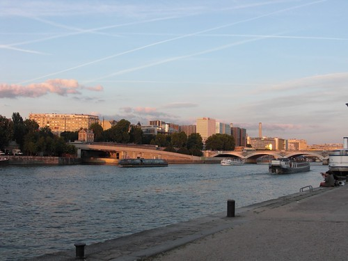 Slow Sunset on the Seine