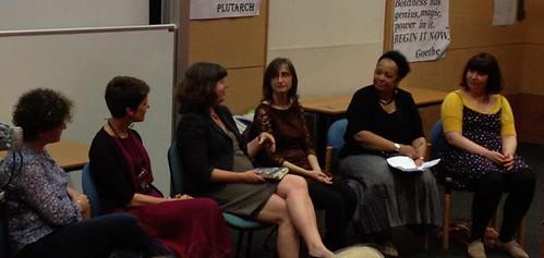Liz Kessler, N M Browne, Julia Green, Lorrie Porter, Jacqueline Roy and Iris Feindt