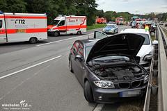 Verkehrsunfall A66 Mainzer Str. 20.07.12