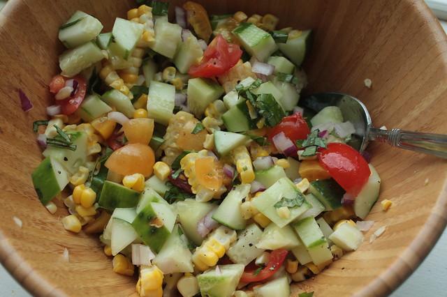 Garden Grub: Summer Salad