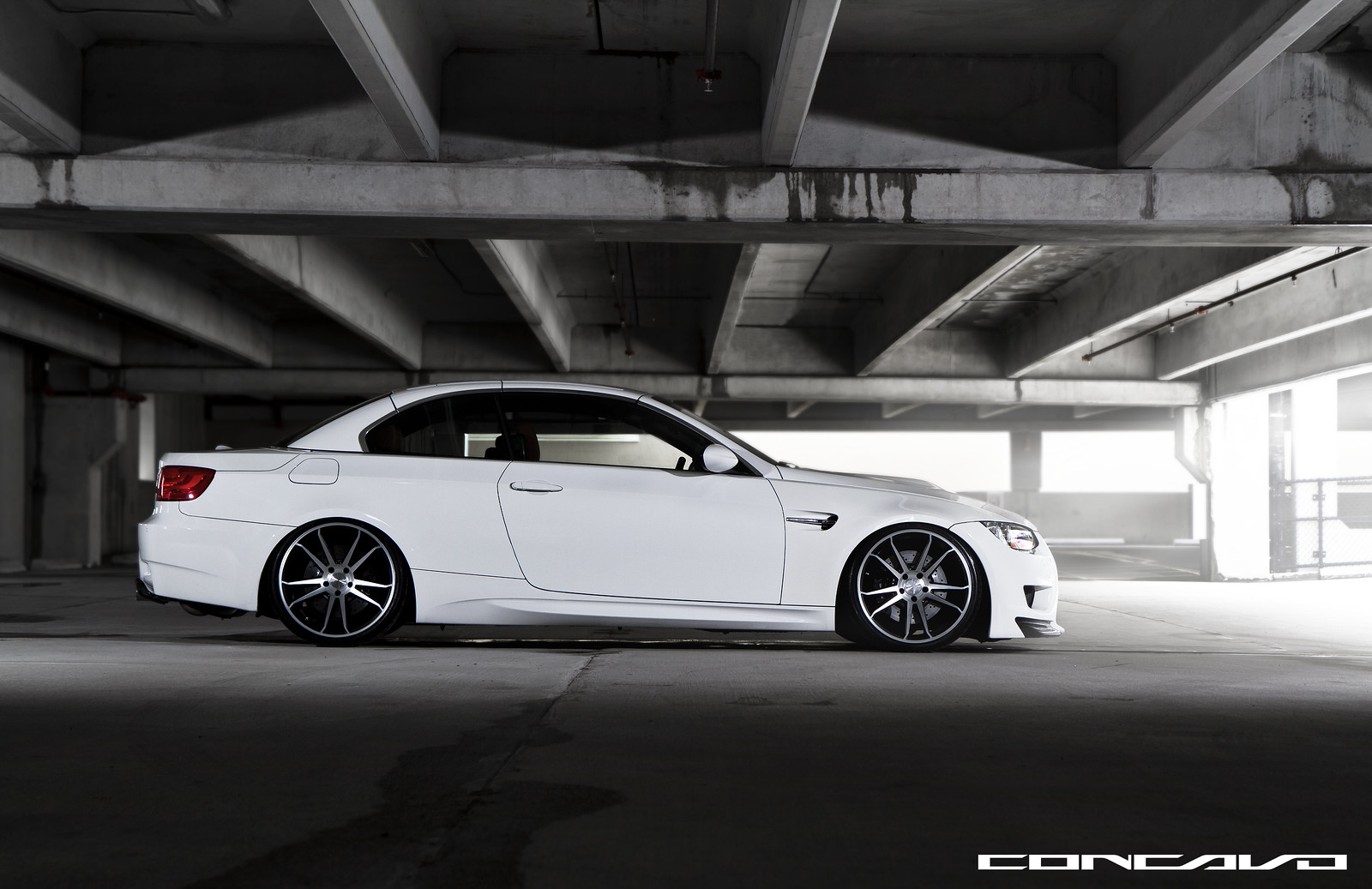 White Hot E93 M3 Sitting Low
