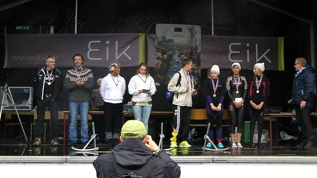Swim Across the Bay of Klaksvík 2012 Medal Winners