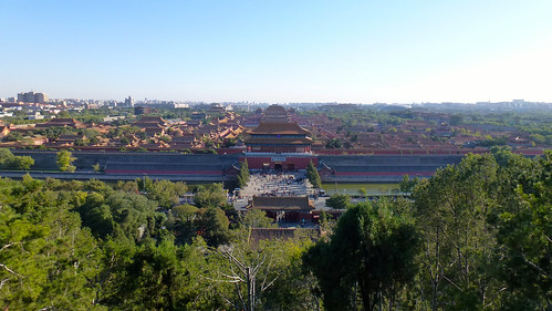 Forbidden City seen from Jingshan Park