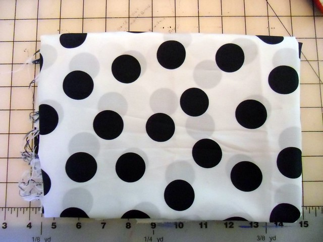 Polka dot fabric