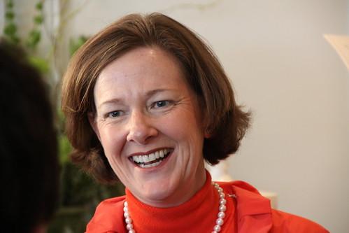 Alison Redford, campaign stop