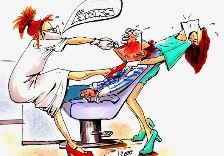 Dentist Chair Cartoon