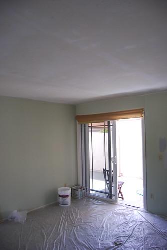 Popcorn free ceiling