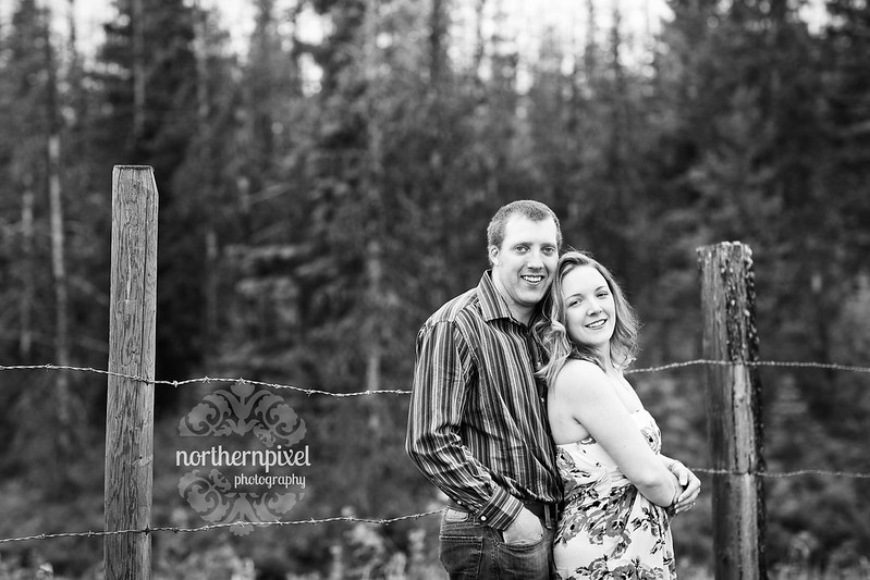 engaged wedding photography pg bc
