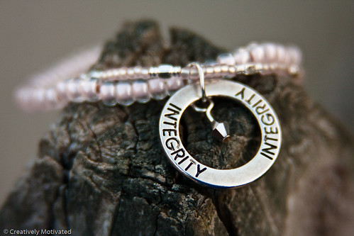 Integrity Bracelet by Creatively Motivated