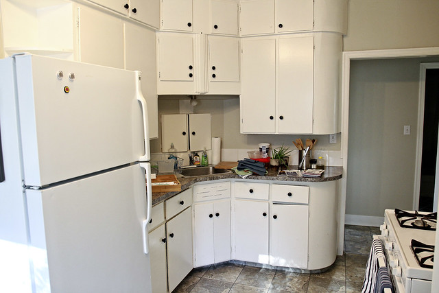 our retro kitchen