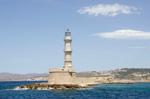 The Lighthouse in Chania