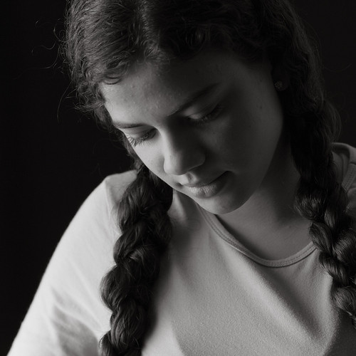 Anna (BW) by Luiz L.