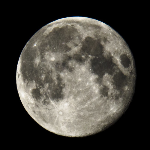 Full Moon with Samyang 500mm Reflector 2 August 2012