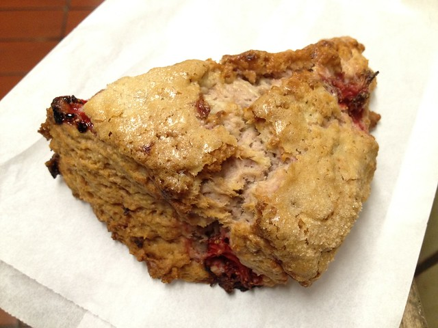 Strawberry apple scone - Arizmendi Bakery