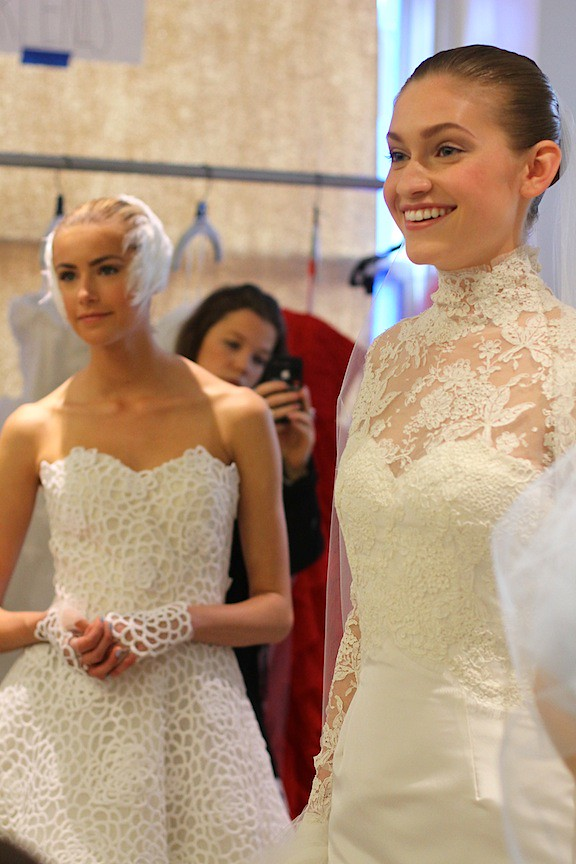 Oscar de la Renta Bridal 2013 73