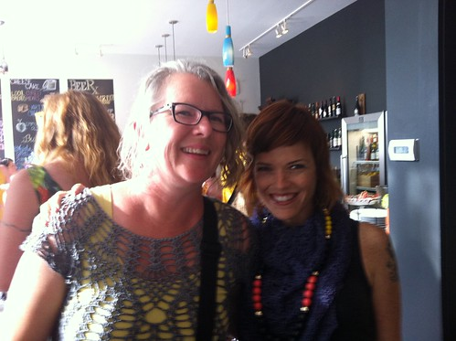 With IC Editor, Marcy Smith