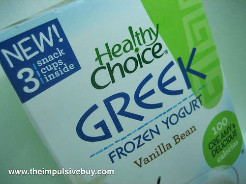 Healthy Choice Greek Closeup