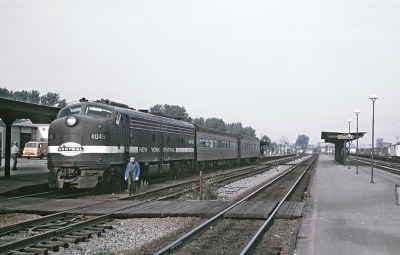 5 New York Central Passenger Trains from Roger Puta