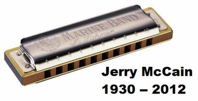 Jerry McCain, 1930 -- 2012