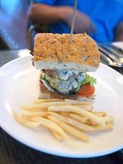 Burger, Cornerstone Restaurant, Bishan Park 2