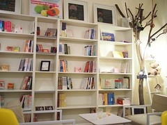 Bookshelves, Real Food Cafe, The Central