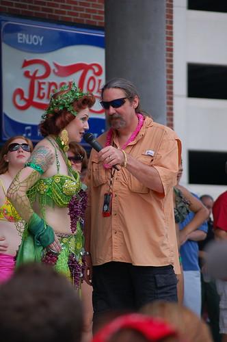 Queen of the Vine, Beale St. Wine Race, Memphis, Tenn.