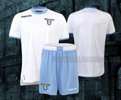 SS Lazio MACRON 2012/13 Home, Away and Third Soccer Jerseys / Football Kits / Maglie