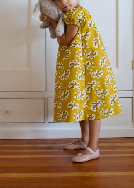 honey mustard dress