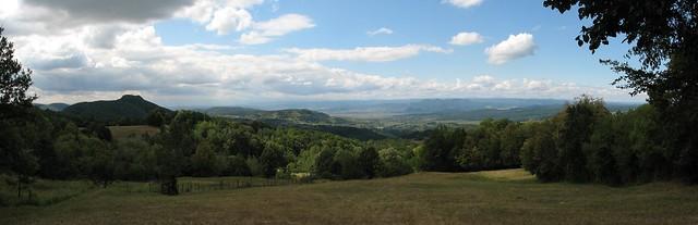 Vedere spre Deva - panoramă