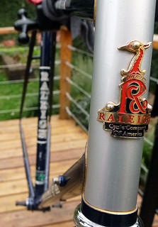 Raleigh Headbadge