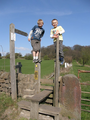 How not to cross a stile