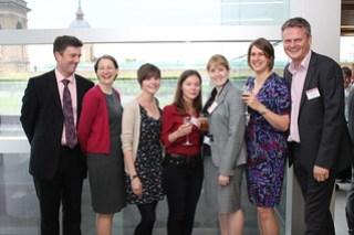 SLA Europe board members and award winners