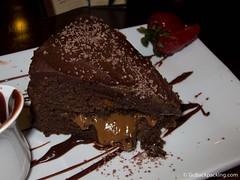 Chocolate arequipe cake