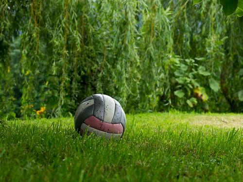 Fußball im Grünen