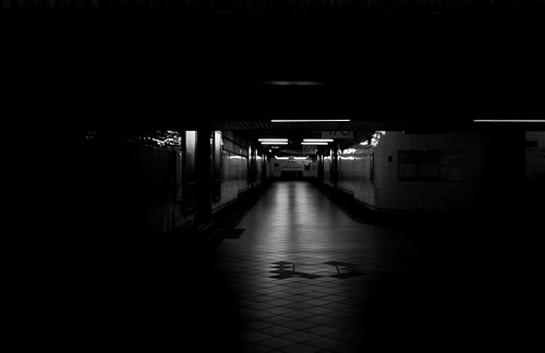 flinders_street_tunnel by Phynyght Studio