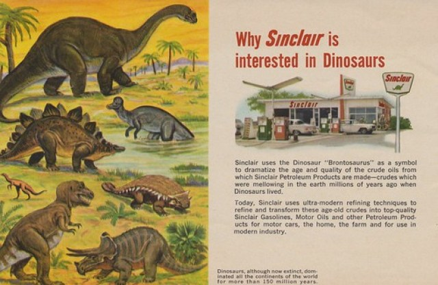 Why Sinclair is Interested in Dinosaurs