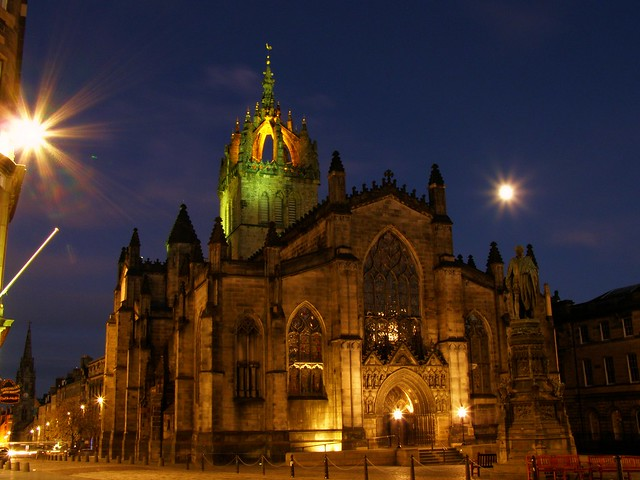 St Giles' Cathedral - Edinburgh, Scotland