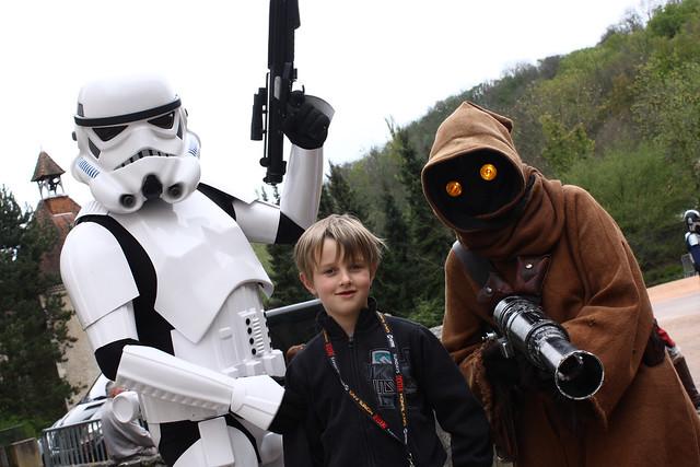 Stormtrooper & Jawa